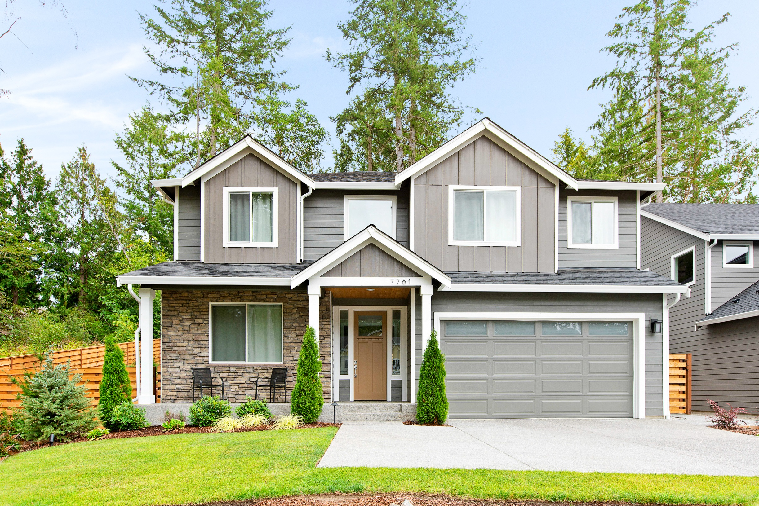 Cedar Exterior 2 - Estates at Gig Harbor