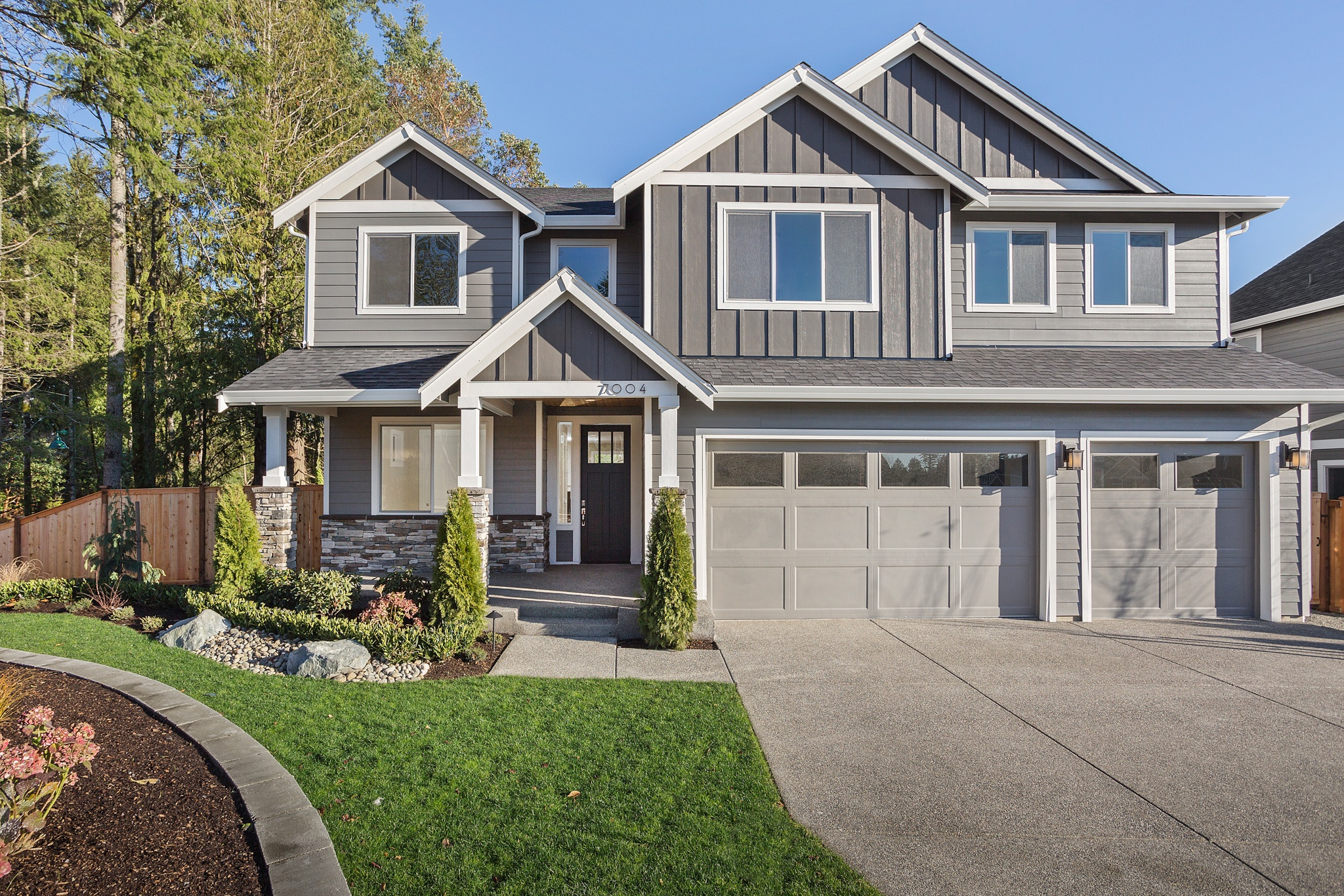 Majestic Exterior   Newberry Trails   Puyallup New Home   Washington Home Builder   Rush Residential