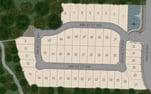 Cushman Pointe Community Plat Map