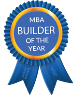 2019 Builder of the Year Ribbon