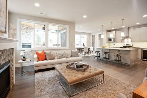 Vista Greatroom - Sample | Rush New Home Builder | Washington For Sale