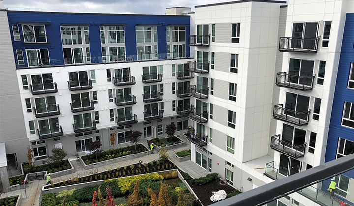 Paceline Apartments in Seattle, WA Named Daily Journal of Commerce Project of the Week